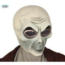 Latexová maska Alien