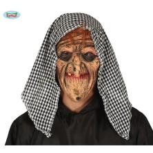 Latexová maska s šatkou