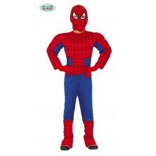 Kostým Spiderman so svalmi