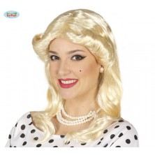 Retro blond parochňa