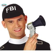 Policajné húkačka s zvukom