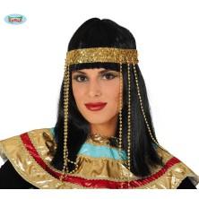 Egypťanka - parochňa s diadémem