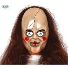 Plastová maska bábika
