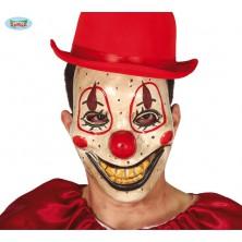 Plastová maska strašidelný klaun