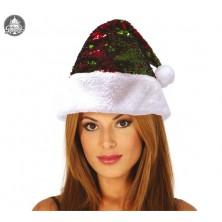 Vianočná čiapočka s flitrami