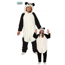 Panda - overal s kapucňou detský