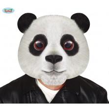 Plastová maska - panda