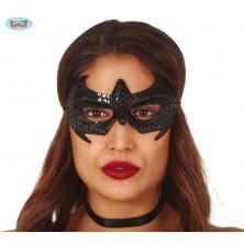 Čierna pavúčie maska