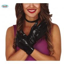 Čierne rukavice krátke