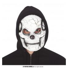 Plastová maska kostlivec
