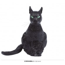 Čierna latexová mačka
