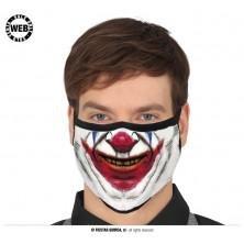 Rúško smejúci sa klaun