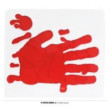 Dekorácie - krvavá ruka