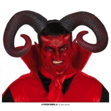 Rohy diabolské zakrútené