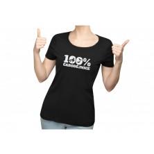 Dámske tričko 100% čarodejnice čierne