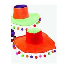 Fiesta - dámsky klobúk s pompony