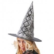 Čarodejnícky klobúk strieborný