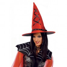 Červený čarodejnícky klobúk