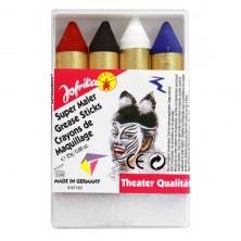 Líčidlá - ceruzky hrubé
