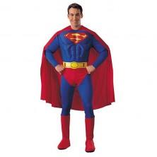 Superman - licenčný kostým pre dospelých