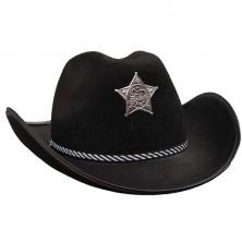 Kovboj čierny s hviezdou