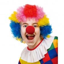 Paruka multicolor - klaun