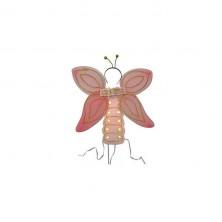 Set motýľ - ružový