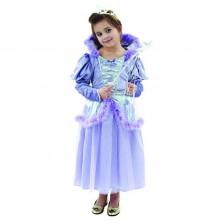 Karnevalový kostým Levanduľová princezná S