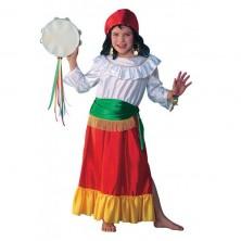 Cigánka - kostým pre deti