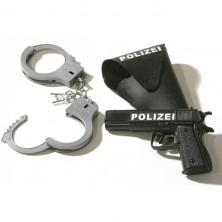 Policejní set 3dílný pistole