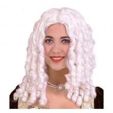 Parochňa dámska biela - lokne
