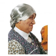 Babička - karnevalová paruka