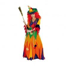 Hexe Kunterbunt - kostým