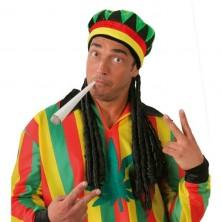 Čiapka jamajka BOB MARLEY