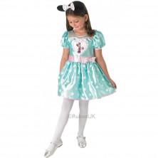Kostým Minnie bledozelený
