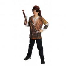 Tričko s potlačou pirát