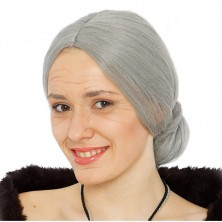 Parochňa babička šedá