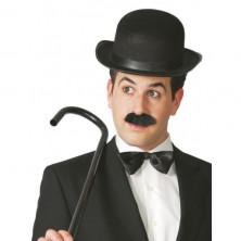 Klobúk Chaplin čierny