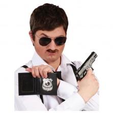 Policajný preukaz s odznakom polícia