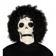 Maska SKULL s vlasmi