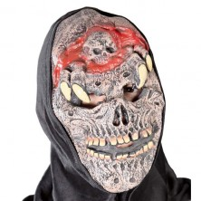 Maska s kapucňou - mŕtvola s mozgom