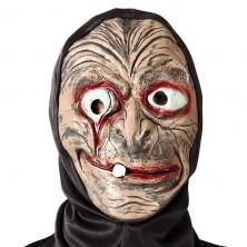 Maska s kapucňou - zdeformovaný