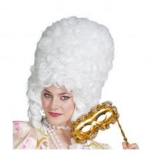 Paruka dámská barokní bílá