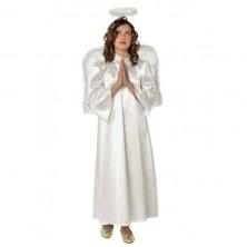 Kostým anjela s krídlami a svätožiarou