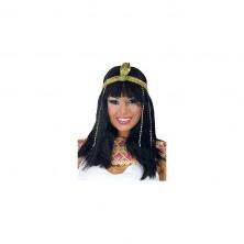 Kleopatra s čelenkou