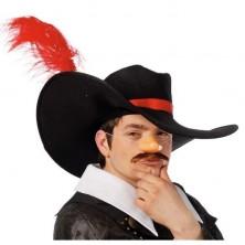 Mušketier - klobúk