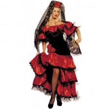Kostým tanečnice Flamengo