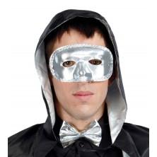 Maska strieborná
