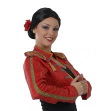 Španielka - dámska parochňa s kvetom