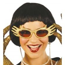 Okuliare zlaté - ruky